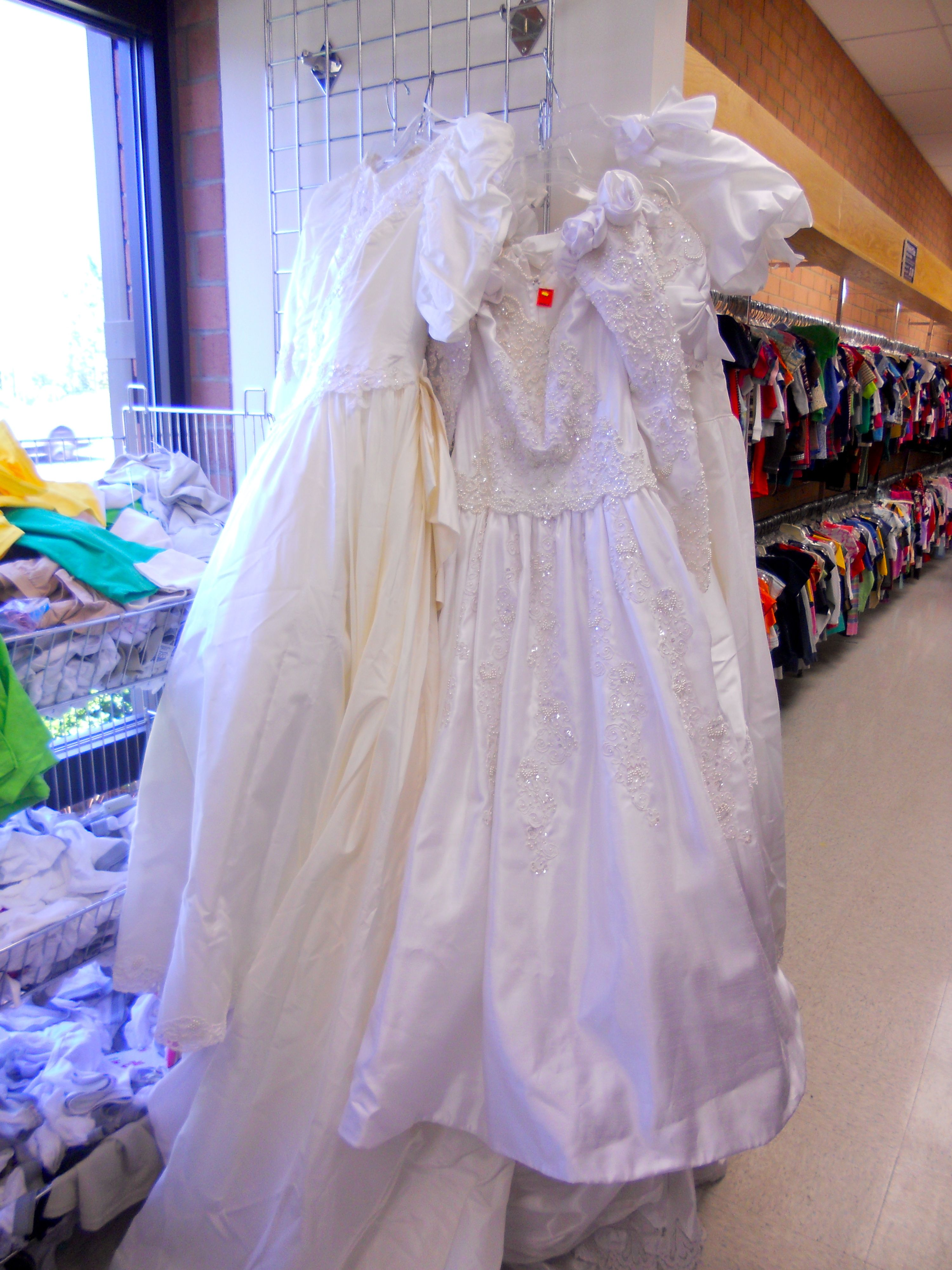 Guest post finding the unexpected at goodwill wow goodwill for Donate wedding dress goodwill