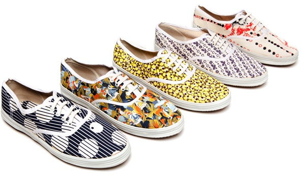 printed sneakers by Suno. http://sunony.com .