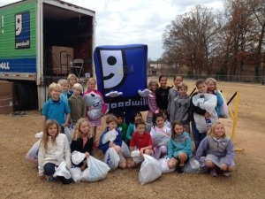 Last week, almost 800 students from Charlotte Country Day School donated to Goodwill. Total value to the Goodwill Mission: $29,589.84!