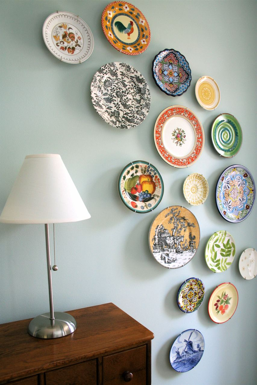 Plate Wall Art Wall Art With Thrifted Plates  Wow Goodwill