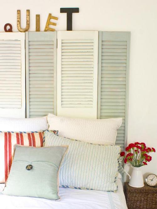 Closet door ideas diy makeovers to repurpose old doors wow goodwill 2 layla palmer shutter headboard eventshaper