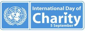 International Day of Charity Logo
