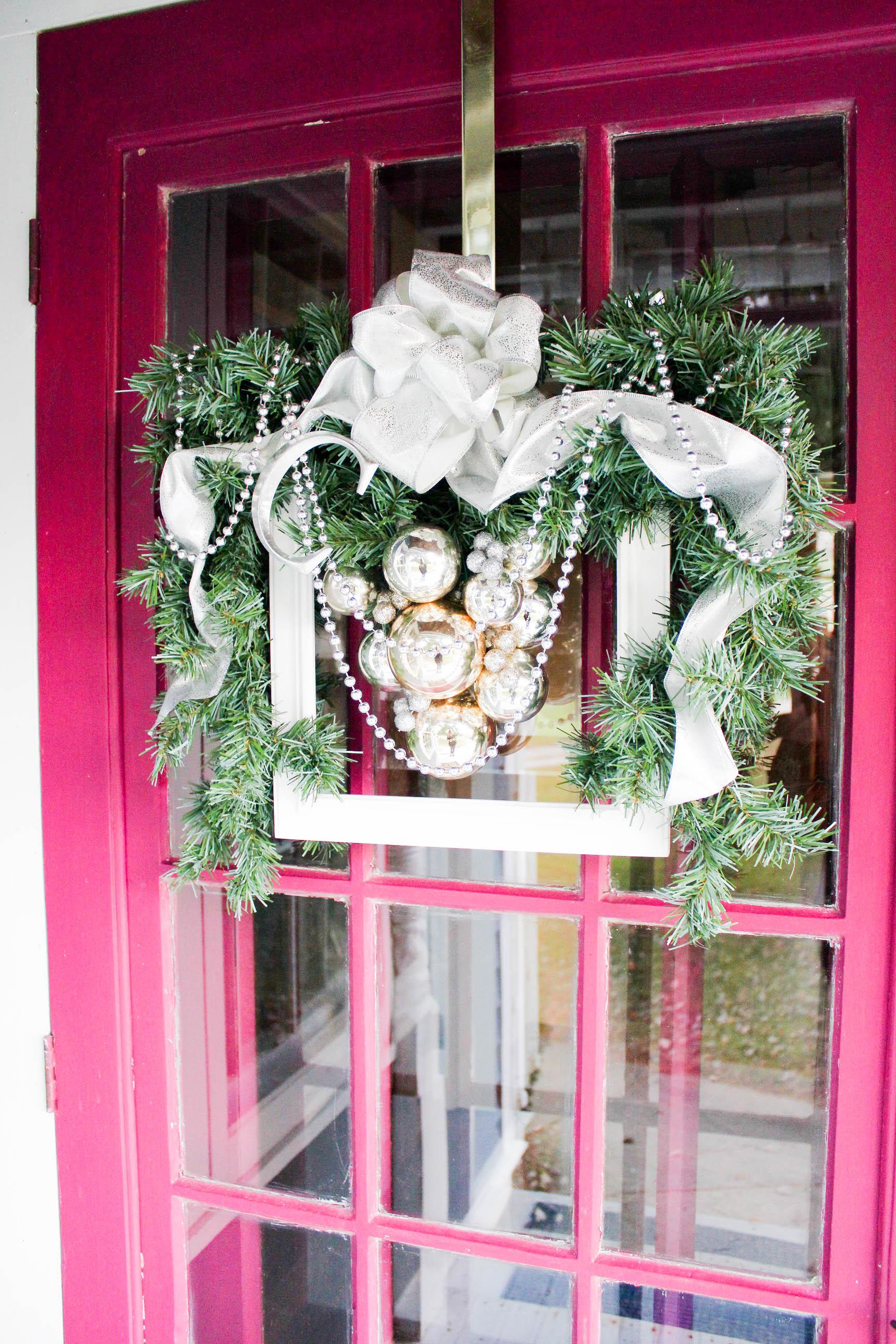 Image 6. Merri Cvetan started her career as an interior designer ... & How to Create a DIY Christmas Frame Wreath   Wow! Goodwill